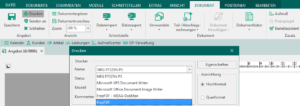 Rechnung als PDF